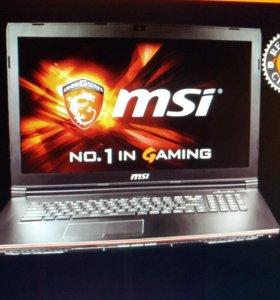 Игровой ноутбук MSI GP72 2QE Leopard PRO 17.3