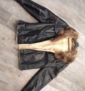 Куртка мужская натуральная кожанная
