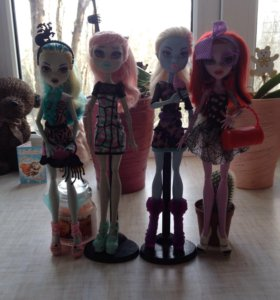 Куклы монстер хай, в хорошем состоянии!