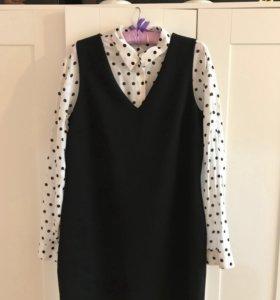 Платье и рубашка Mango
