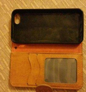 Чехлы и подставка на айфон 5s