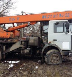 Автокран Клинцы 18 м 16 тн