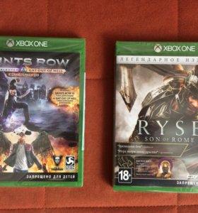 Две игры для Xbox One
