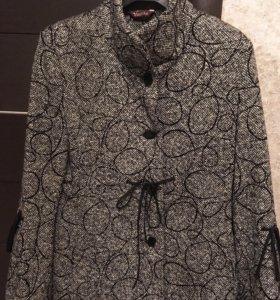 Пальто 100% шерсть демисезон