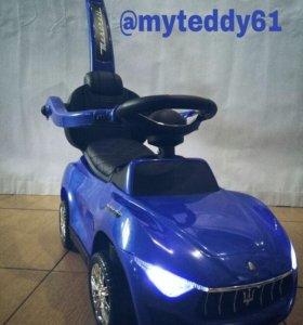 новый толокар Maserati