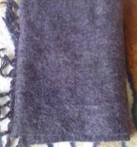 Новый мужской шарф шерстяной