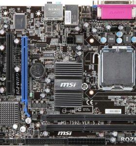 Материнская плата MSI G41M-P28 DDR-3