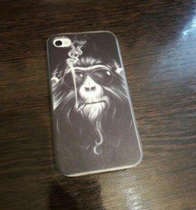 Чехол на iphone 4s; 4