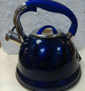 Чайник со свистком 3 литра !