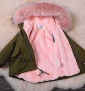 Парка (куртка) для девочки