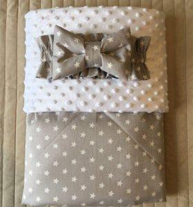 Детское одеялко, конверт на выписку