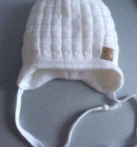 Продам шапочку 0-6 месяцев