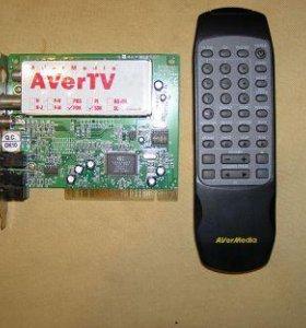 TB тюнер PCI для компьютера функция видео захвата
