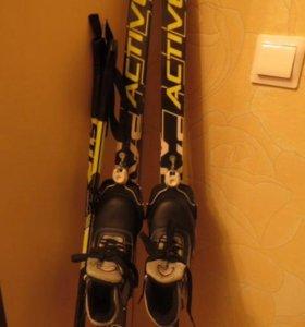 Лыжи 32размер