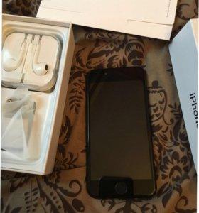 Айфон 7 чёрный копия