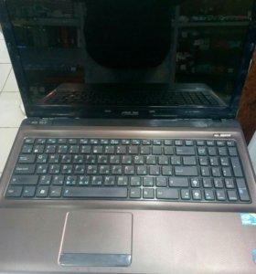 Ноутбук asus i3 2.4x4/4/500/512