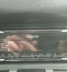 Магнитола kenwood kmm-122y