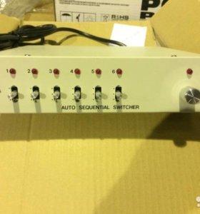Видео свитчер (коммутатор) hts-1005-6