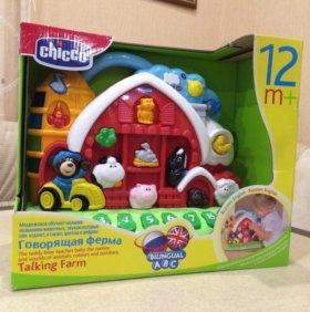 Новая игрушка Chicco Грворящая ферма