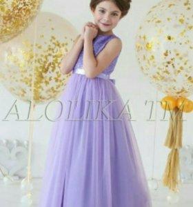 Новое нарядное платье для девочки