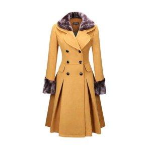Новое демисезонное пальто 46-48