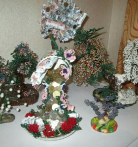 ТОПИАРИЙ-декоративное деревце