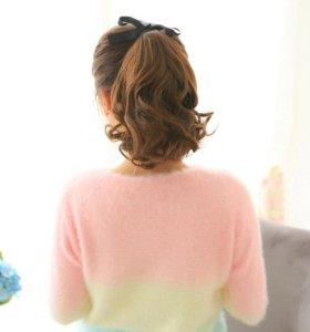 Накладные волосы,хвостик