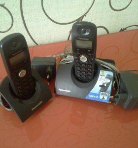 """Стационарный телефон """"Panasonic""""."""