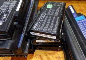 Б/у батарейки от ноутбуков
