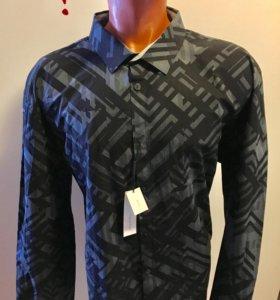 Рубашка Calvin Klein слим фит