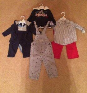 Продам одежду на мальчика 0-2 года