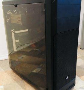 Игровой ПК + монитор HP