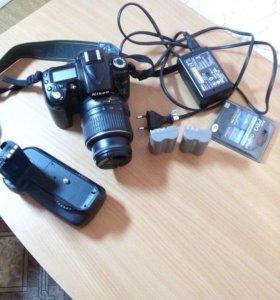 Nikon D90 зеркальный фотоаппарат