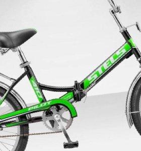 велосипед со складной рамой