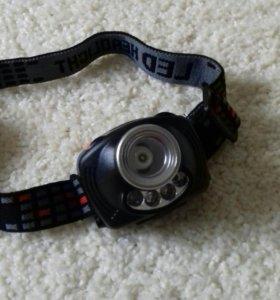 Налобный фонарь с сенсорным датчиком DX 1310