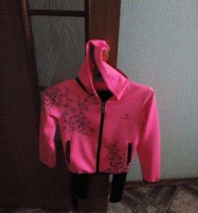 Олимпийка розовая