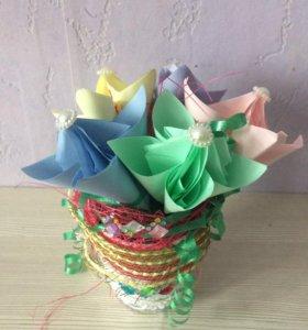 Продам поделку букет цветов