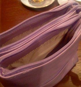 Кросс-боди сумочка ( цвет насыщенный)