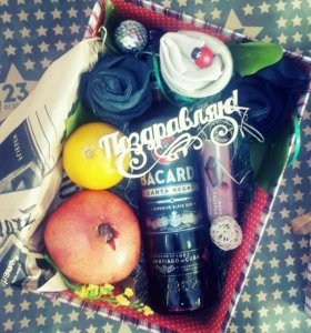 Вкусные подарки на 23февраля