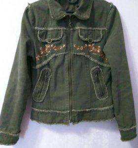 Куртки котоновые