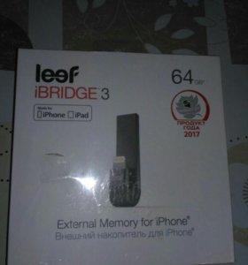 Совершенно новый накопитель памяти на iphone