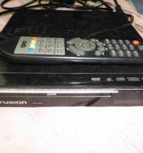 DVD-плеер Fusion FD-U157X с пультом