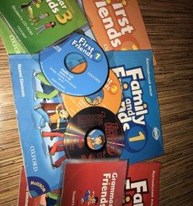 Комплект учебников по английскому