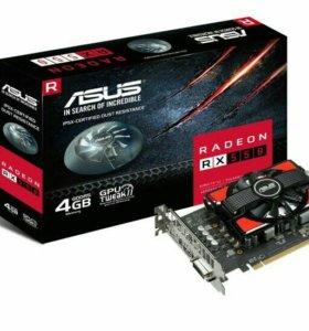 Видеокарта RX 550 4gb