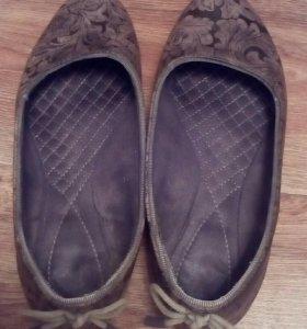 Туфли с бантиками сзади