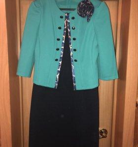 Костюм ( пиджак и платье)
