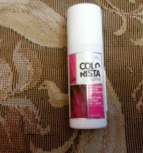 Красящий спрей для волос