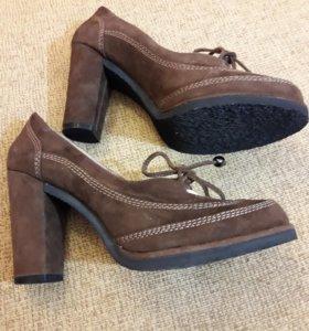 Туфли новые натуральная замша