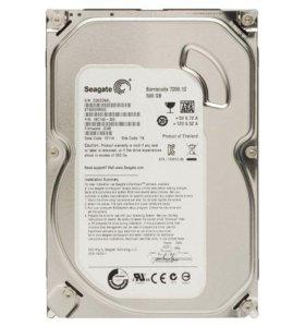 HDD Seagate ST500DM002-500Gb, SATA3, 7200rpm, 16Mb