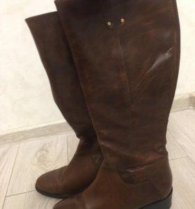 Сапоги кожаные , размер 38